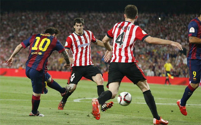 Copa del Rey 2014/2015: Athletic Club de Bilbao - FC Barcelona