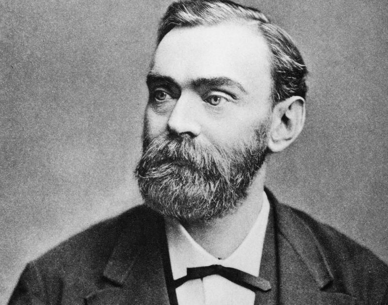 Alfred Nobel, además de crear los premios Nobel, inventó: