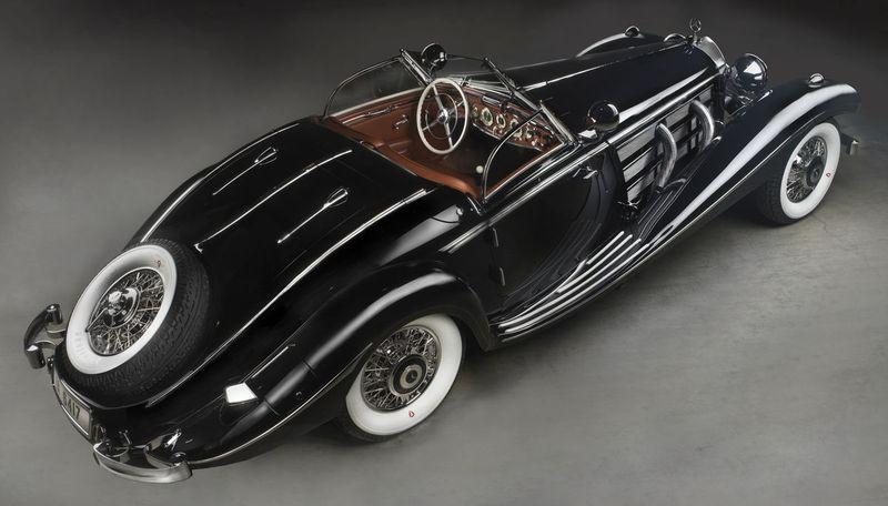 ¿Cuantos caballos tenía este modelo de finales de los 30?
