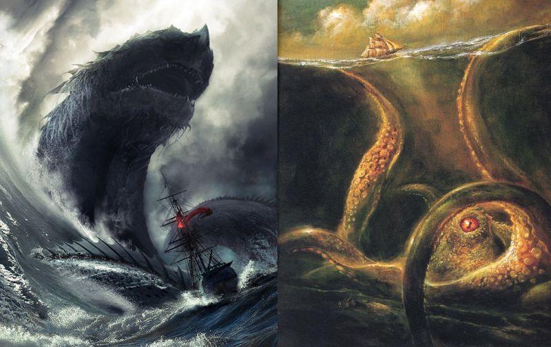 Leviatan vs Kraken