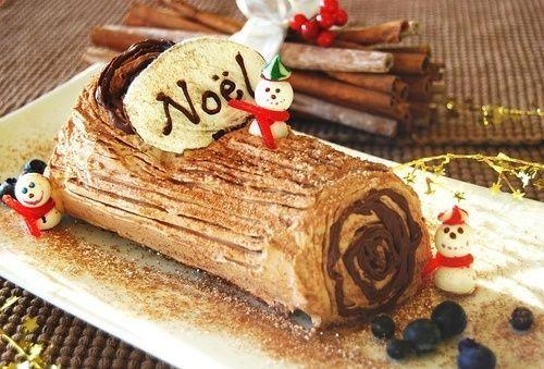 ¿En qué País es típico comer en Navidad Tronco de Navidad?