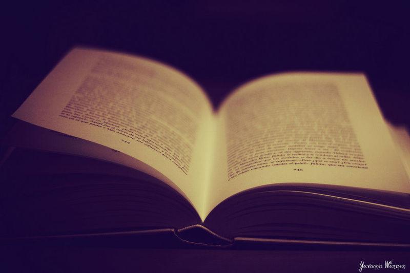 ¿Te consideras un libro abierto?