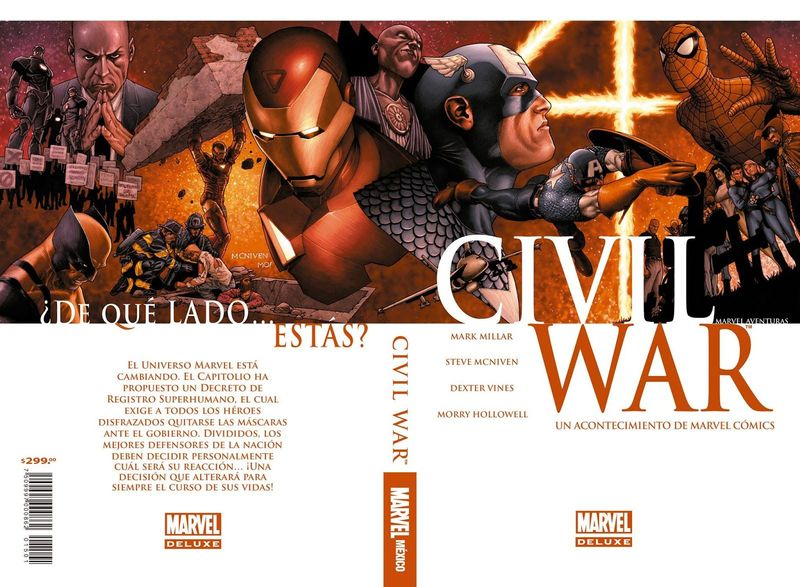 A continuación viene Civil War, ¿cómo termina el evento?