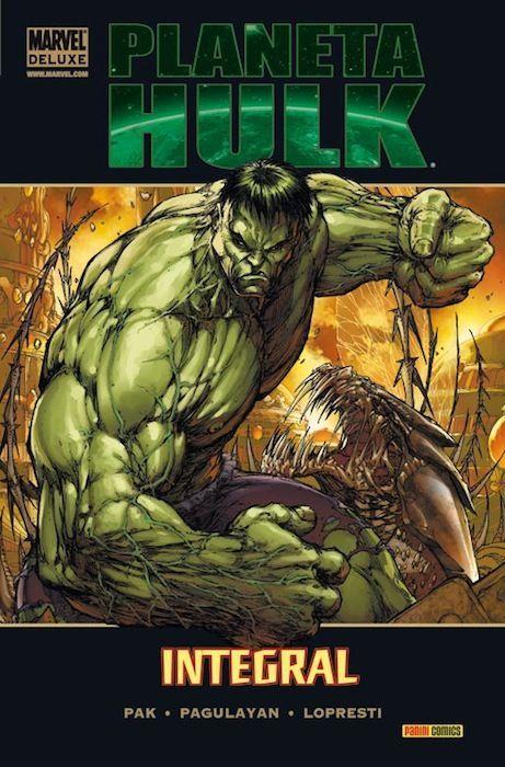 Concluimos con Planet Hulk, ¿cuál de los siguientes héroes no aparece en el video de la nave explicándole que es muy peligroso?