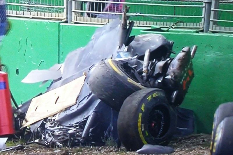 ¿En qué circuito sufrieron Fernando Alonso y Esteban Gutiérrez el fuerte accidente de la foto?