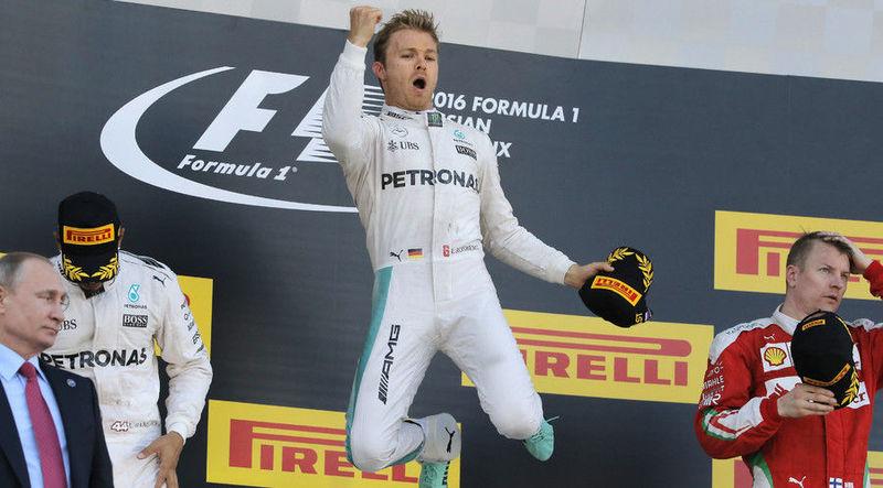 ¿Cuáles fueron los 4 pilotos que ganaron alguna Carrera?