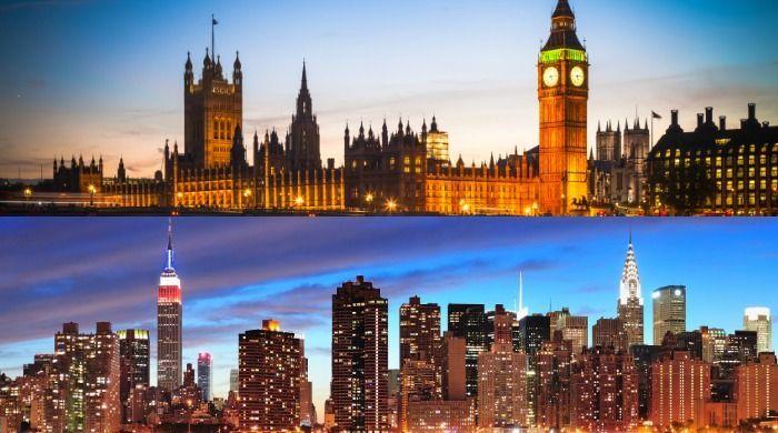 ¿Londres o Nueva York?