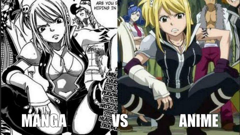 ¿Manga o anime?