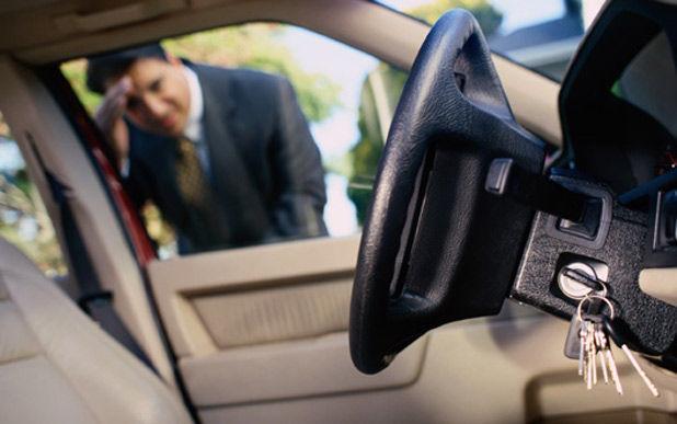 Salir a la calle y darte cuenta de que te has dejado las llaves dentro de casa o en el coche.