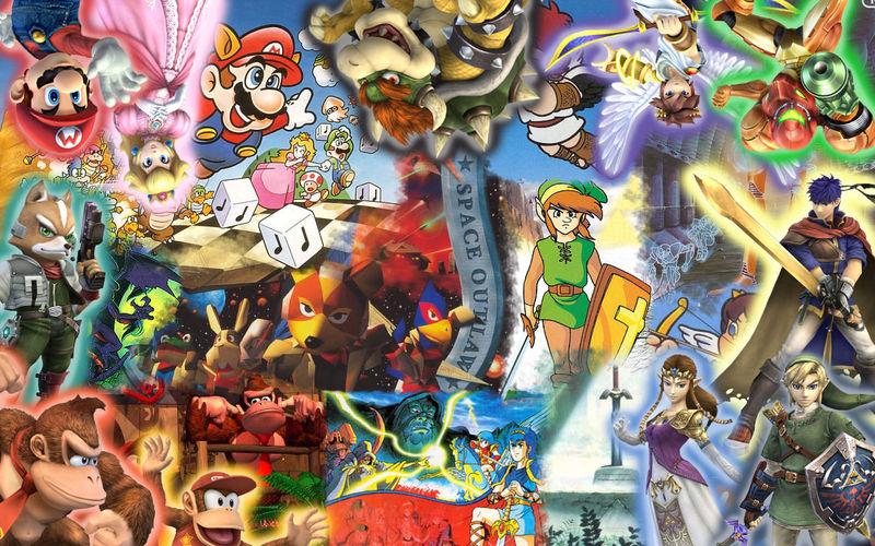 24425 - ¿Sabes el nombre de estos personajes de videojuegos? Nivel: Medio