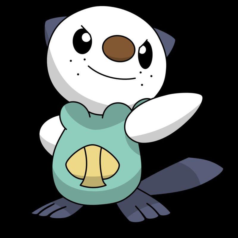 Si tu rival saca a Oshawott qué pokemon de estos escogerías para tener ventaja ...