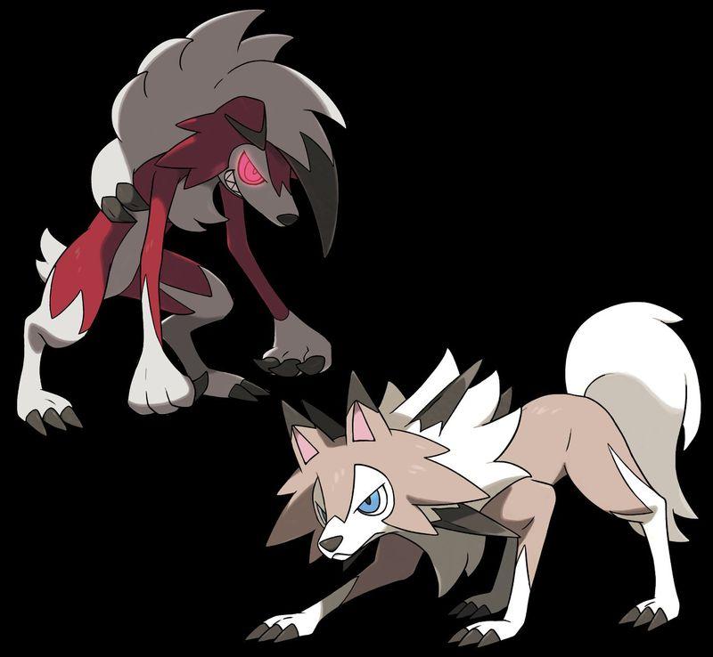 Si tu rival saca  a Lycanroc qué pokemon de estos escogerías para tener ventaja ...