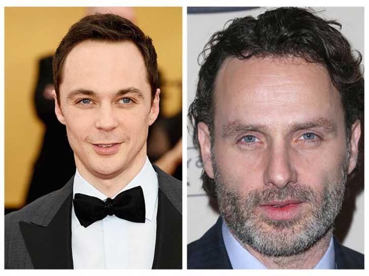 ¿Tienen la misma edad Jim Parsons y Andrew Lincoln?