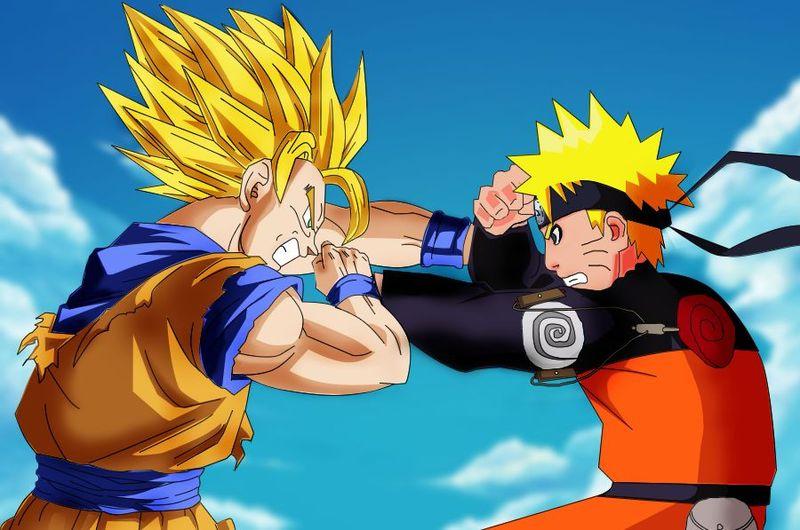 24515 - 1- Naruto (Shippuden, temporada 1) vs. Goku (SS1, sólo)