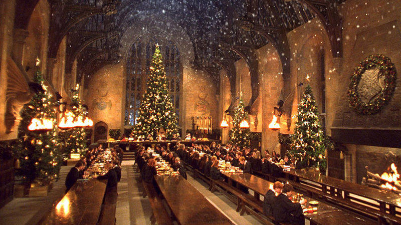 En vacaciones de Navidad, ¿volverías a casa o te quedarías en Hogwarts?