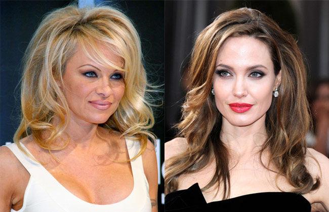 ¿Tienen la misma edad Pamela Anderson y Angelina Jolie?