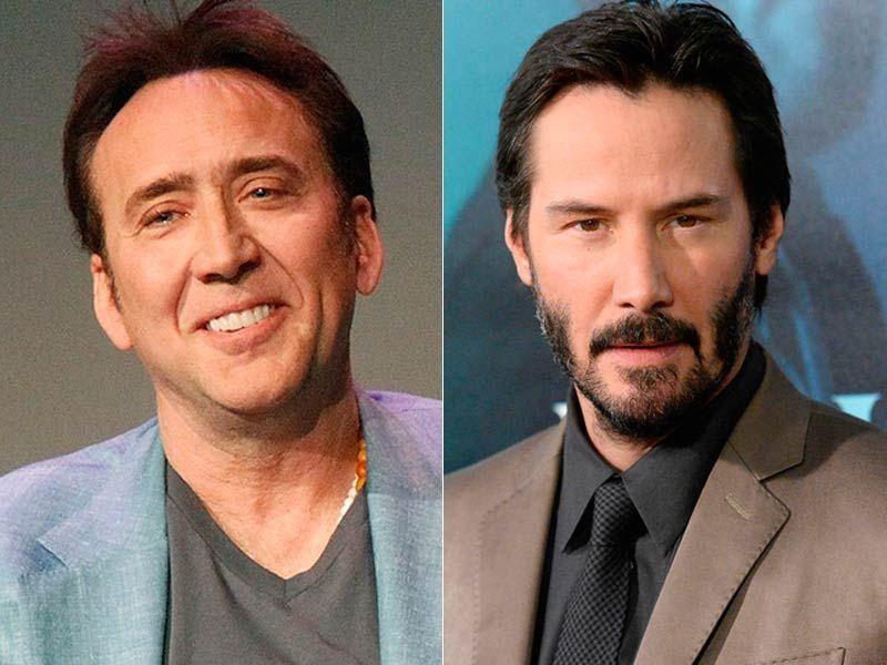 ¿Tienen la misma edad Nicolas Cage y Keanu Reeves?
