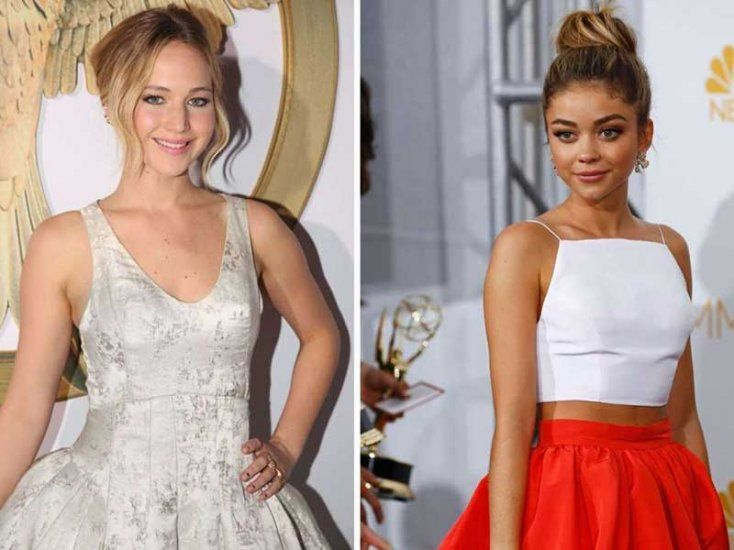 ¿Tienen la misma edad Jennifer Lawrence y Sarah Hyland?