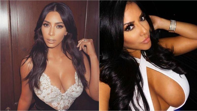¿Kim Kardashian o Kiara mia?