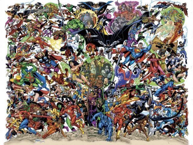24677 - ¿Reconoces a estos personajes del mundo de los cómics?