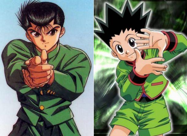 Yusuke vs Gon