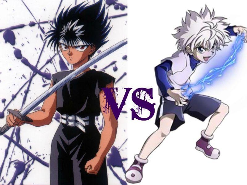 Hiei vs Killua