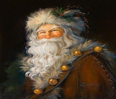 A mediados del S.XIX, la figura de Santa Claus se expande desde EEUU a Europa ¿cómo iba vestido en este momento?