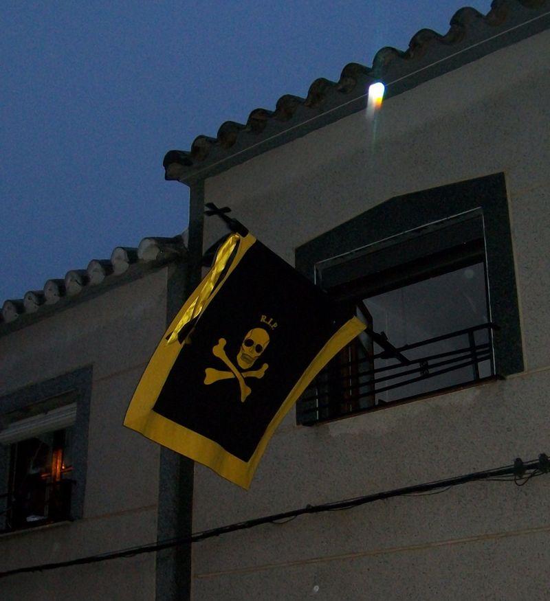 ¿A qué fiesta pertenece esta bandera?