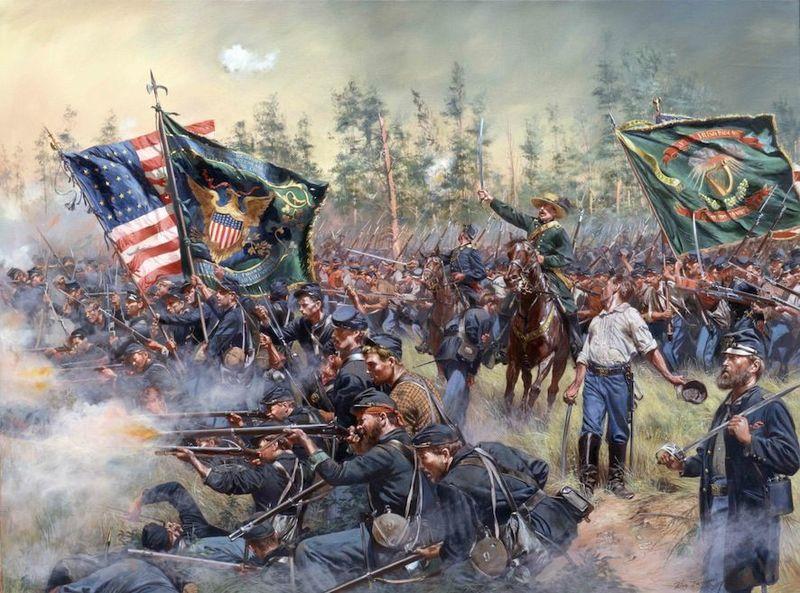 Guerra de Secesión (Guerra Civil Estadounidense)