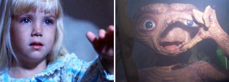 """Los clásicos de los 80, """"E.T., El Extraterrestre"""" y """"Poltergeist"""" iban a ser la misma película."""