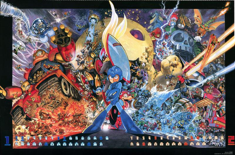 24882 - ¿A cuántos Robots Masters reconoces? (Mega Man 1-Mega Man 6)