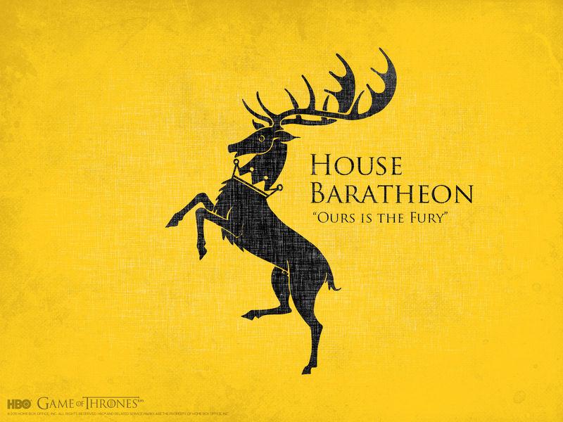 ¿A quién prefieres de la casa Baratheon?
