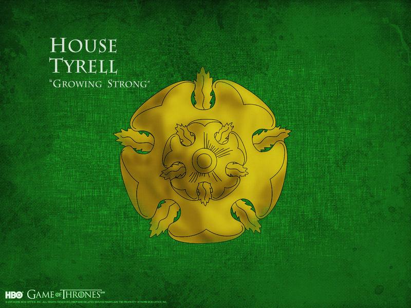 ¿A quién prefieres de la casa Tyrell?