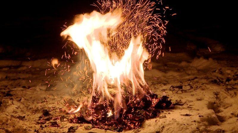 Combustión espontanea (gente que arde sin motivo aparente):