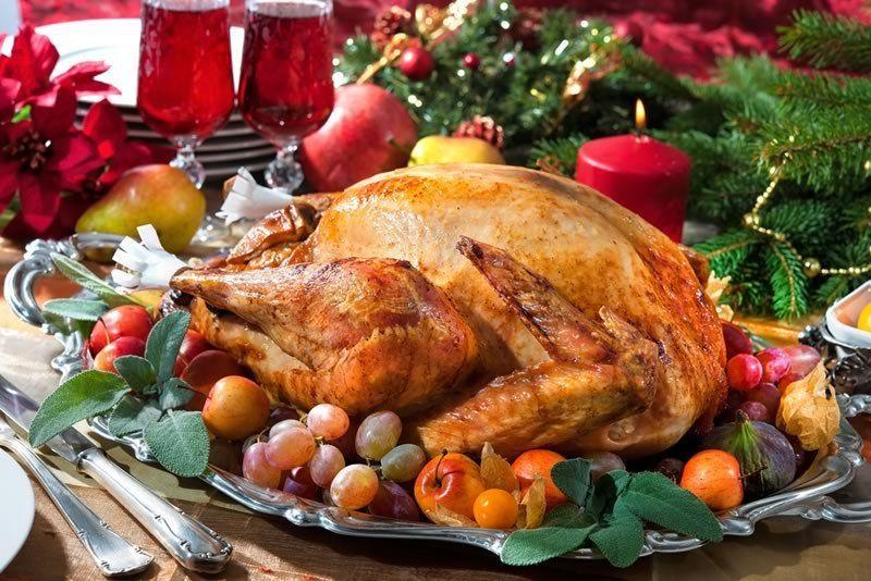 ¿Cuál de estas afirmaciones sobre el pavo de Navidad es verdadera?