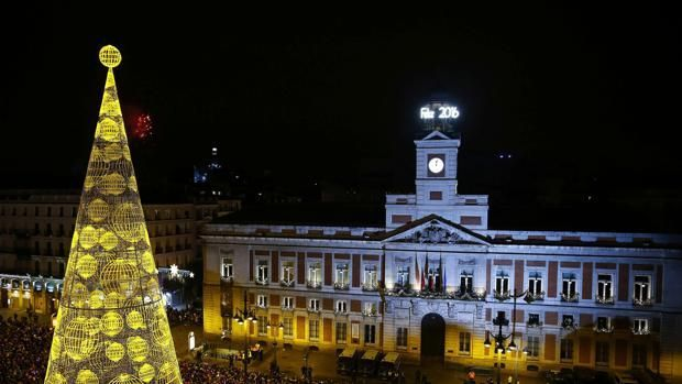 ¿En qué año fue la primera retransmisión de las Campanadas de fin de año de TVE en la Puerta del Sol de Madrid?