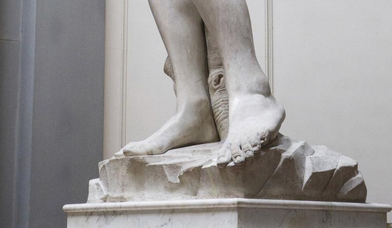 25020 - ¿Reconoces estas famosas esculturas sólo viendo una pequeña parte de ellas?
