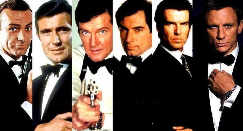 ¿Quién que ha sido el mejor James Bond de la historia del cine?