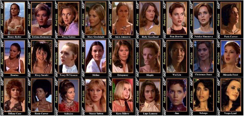 ¿Cuál es la mejor chica Bond?