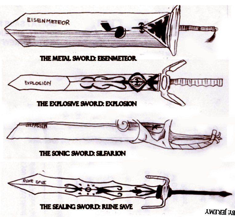 Las transformaciones de la espada de Haru Glory (Rave Master), aparecen en Fairy Tail, ¿en que saga?