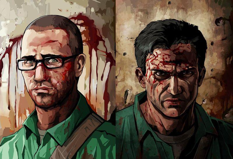 ¿Dónde nacieron Daniel Lamb y Leo Kasper los dos protagonistas de Manhunt 2?