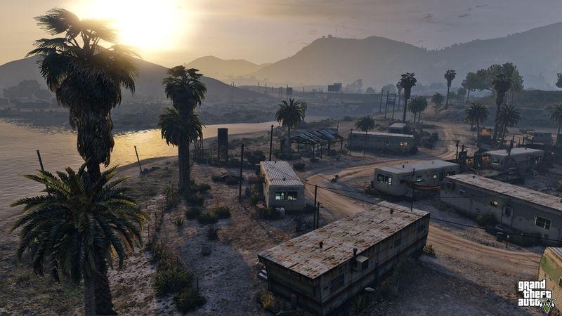 ¿Cómo se llama este pequeño poblado de los Lost en Gta V?