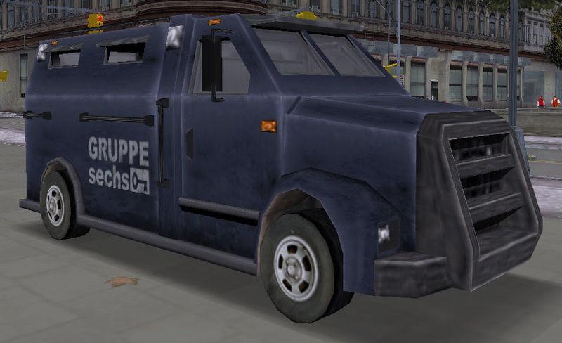 En Gta III ¿Para quién tenemos que robar una furgoneta blindada en la misión Van Heist?