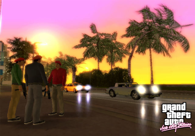 ¿Qué vehículo utilizan la banda Sharks en Gta Vice City Stories?