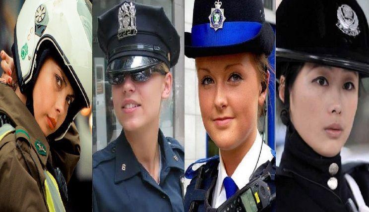 25123 - ¿En qué países se encuentran estas hermosas mujeres policías?