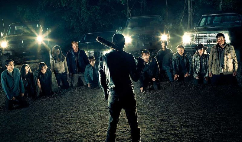 Siguiendo con las series, The Walking Dead...