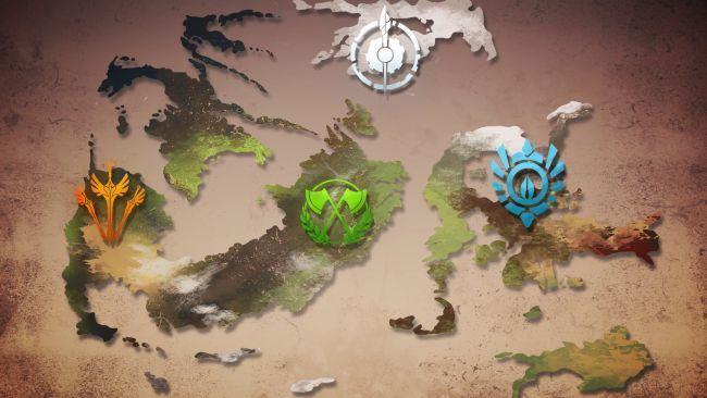¿Cómo se llaman los cuatro reinos de Remnant?