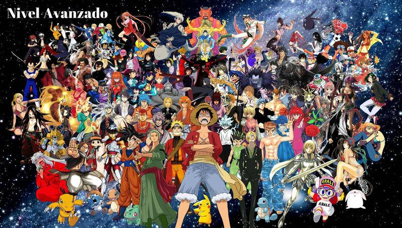 25189 - ¿Crees conocer muchos animes/mangas? Nivel Avanzado.