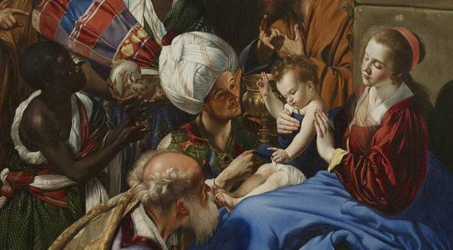 Según cuenta la Biblia ¿cuántos reyes magos fueron a adorar al niño Jesús?