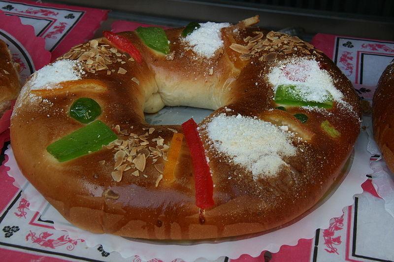 ¿Qué dulce es típico comer durante la festividad de los Reyes Magos?